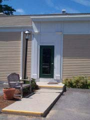 A door frame; Size=240 pixels wide